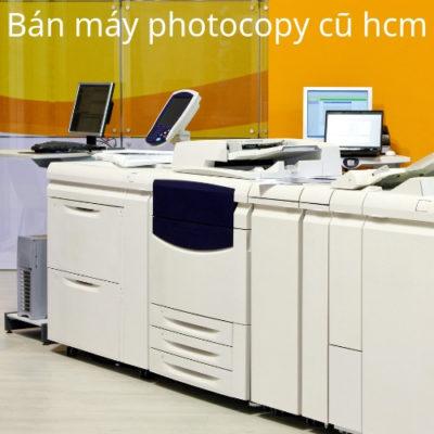 Bán máy photocopy cũ hcm