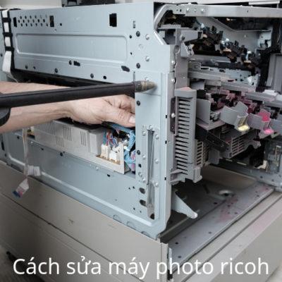 Cách sửa máy photo ricoh