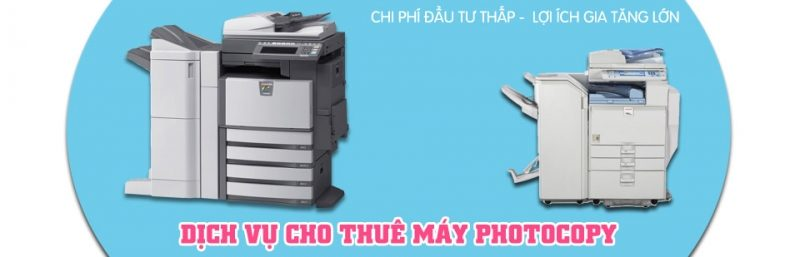 cho thuê máy photo màu
