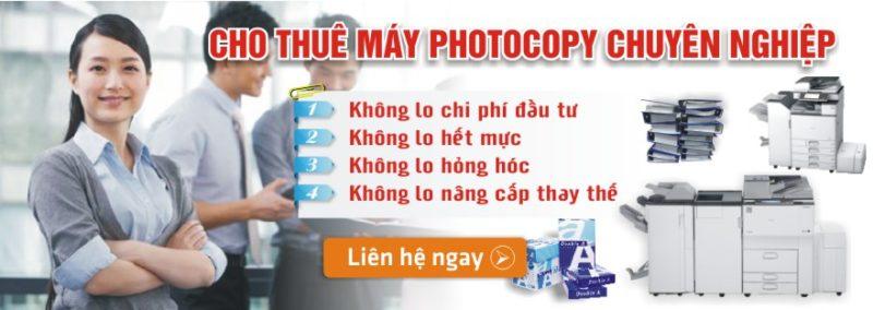 cho thuê máy photocopy chất lượng cao