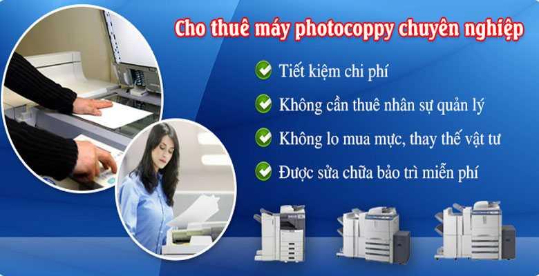 cho thuê máy photocopy dịch vụ