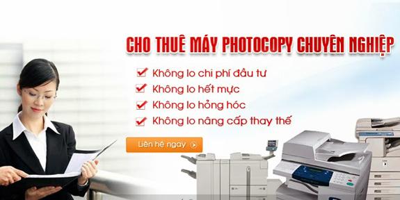 cho thuê máy photocopy màu bình dương