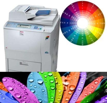 máy photocopy màu cũ