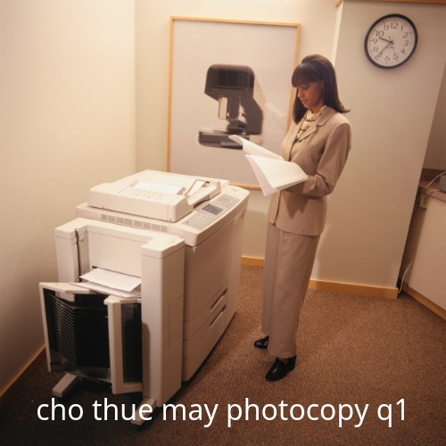 Cho thue may photocopy q1 HCM