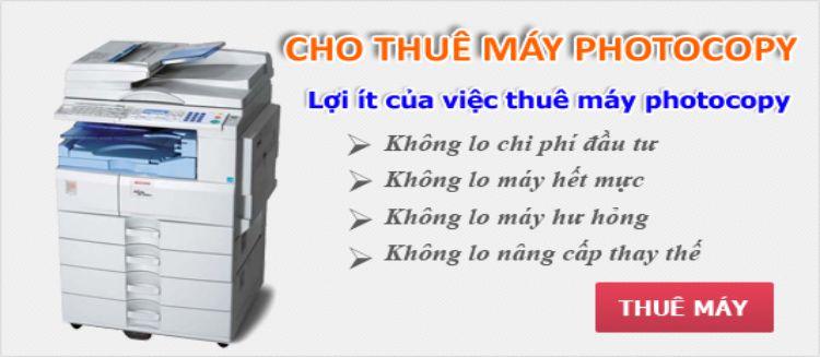 Chuyên cho thuê máy photocopy