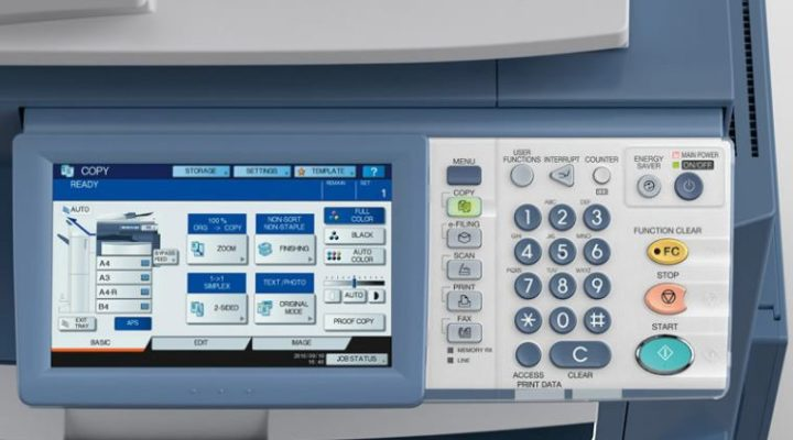 cách scan trên máy photocopy