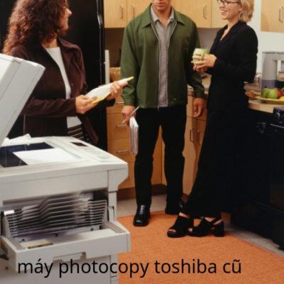 Máy photocopy toshiba cũ tại Sài Gòn