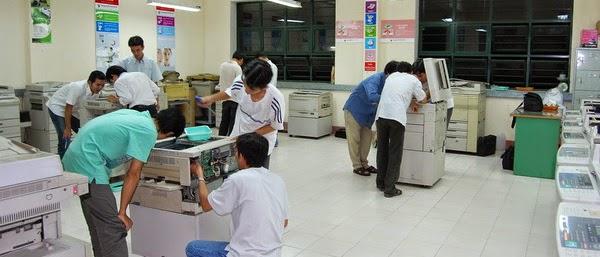 dạy sửa máy photocopy