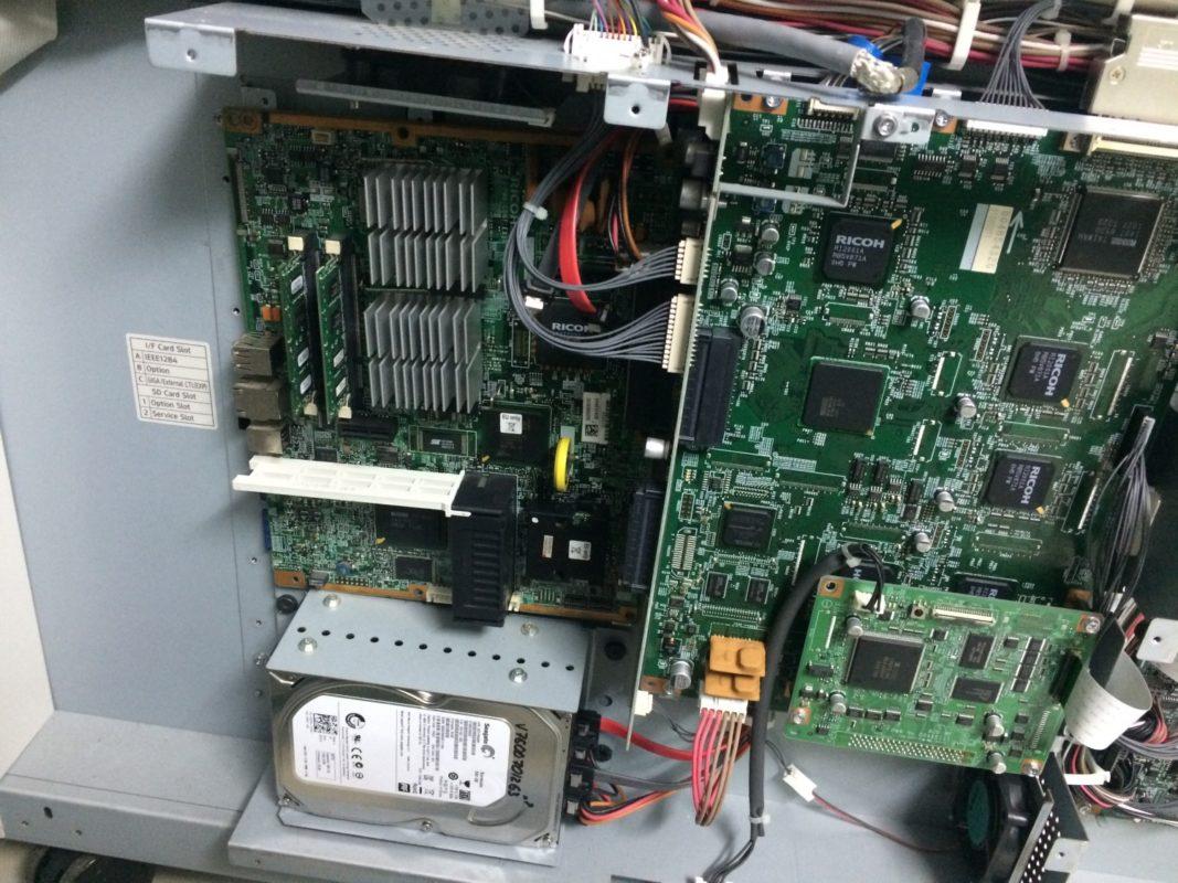 sửa mainboard máy photocopy