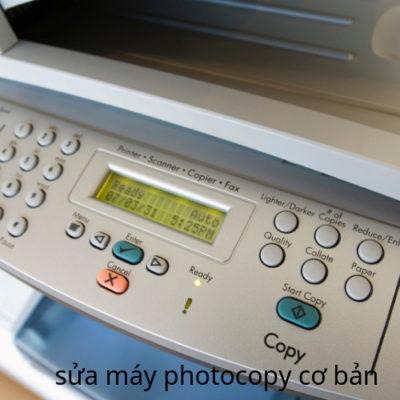 sửa máy photocopy cơ bản tại HCM