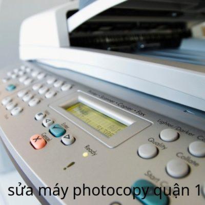 Sửa máy photocopy quận 1 HCM