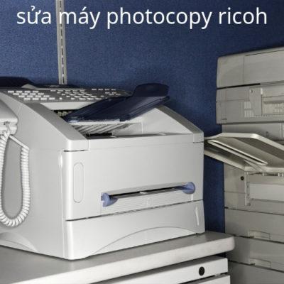 Sửa máy photocopy ricoh tại Sài Gòn
