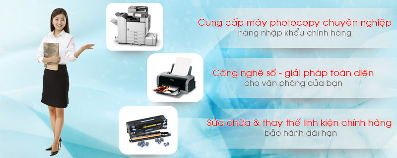 Khánh Nguyên là địa chỉ cung cấp máy photocopy giá rẻ uy tín nhất