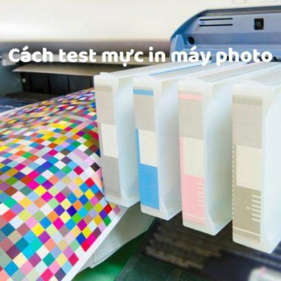 Cách test mực tin máy photo ricoh nhanh nhất