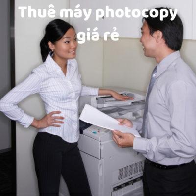 Cho Thue may photocopy giá rẻ tại Sài Gòn