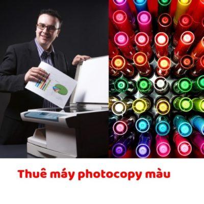 Cho thuê máy photocopy màu tại HCM