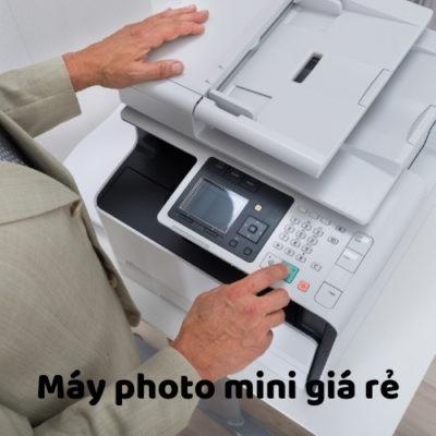 Máy photo mini giá rẻ tại HCM