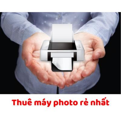 Thue máy photo giá rẻ nhất Sài Gòn