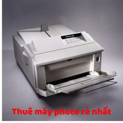 Thuê máy photo rẻ nhất Sài Gòn