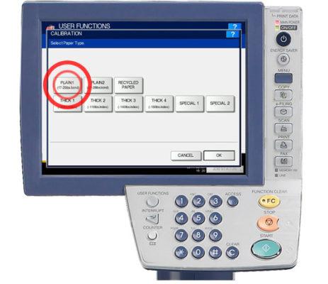 Đặt hiệu chỉnh in (Set Print Calibration)