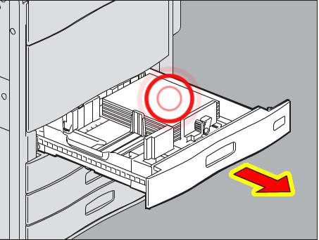 Thay đổi ngăn kéo giấy (Change Paper Drawer)