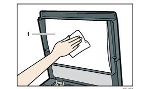 Vệ sinh nắp kính tiếp xúc (Lau tờ)